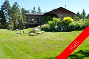 Williams Lake House with Acreage for sale:  3 bedroom 3,650 sq.ft. (Listed 2014-07-07)