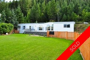 Williams Lake Manufactured with Land for sale:  3 bedroom 1,160 sq.ft. (Listed 2014-09-02)