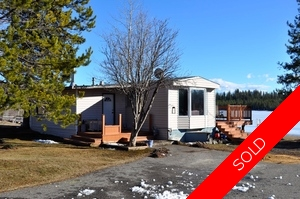 Williams Lake Manufactured with Land for sale:  3 bedroom 1,035 sq.ft. (Listed 2015-03-03)