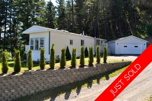 Williams Lake Manufactured with Land for sale:  2 bedroom 924 sq.ft. (Listed 2015-07-19)