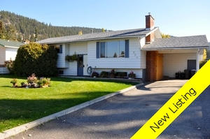 Williams Lake House/Single Family for sale:  4 bedroom 2,255 sq.ft. (Listed 2015-10-01)