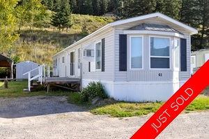 Williams Lake Manufactured for sale:  2 bedroom 938 sq.ft. (Listed 2016-08-18)