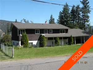 Williams Lake House/Single Family for sale:  Listing Provided By ReMax Williams Lake 2,300 sq.ft. (Listed 2011-08-12)