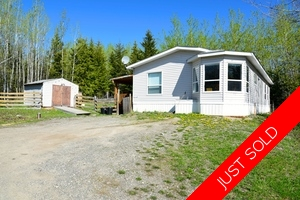 Williams Lake Manufactured with Land for sale:  3 bedroom 1,152 sq.ft. (Listed 2018-05-06)