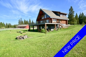 Williams Lake House with Acreage for sale:  4 bedroom 3,000 sq.ft. (Listed 2018-04-15)
