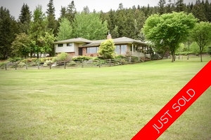Williams Lake House with Acreage for sale:  4 bedroom 3,081 sq.ft. (Listed 2018-06-19)