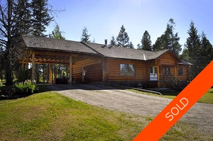 Williams Lake House with Acreage for sale:  4 bedroom 2,968 sq.ft. (Listed 2012-07-14)