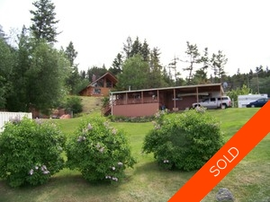 Williams Lake Manufactured with Land for sale:  2 bedroom 768 sq.ft. (Listed 2012-07-26)