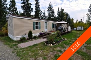 Williams Lake Manufactured with Land for sale:  2 bedroom 980 sq.ft. (Listed 2012-09-24)