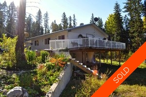 Williams Lake House with Acreage for sale:  4 bedroom 2,400 sq.ft. (Listed 2012-10-05)