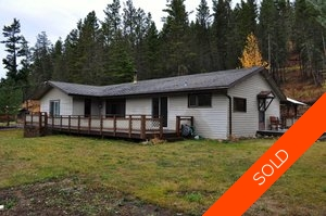 Williams Lake House with Acreage for sale:  3 bedroom 1,600 sq.ft. (Listed 2012-10-12)