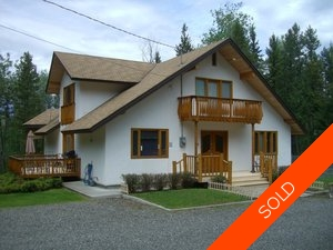 Williams Lake House with Acreage for sale:  3 bedroom 4,350 sq.ft. (Listed 2013-03-15)