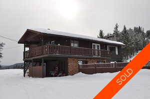 Williams Lake House with Acreage for sale:  5 bedroom 2,460 sq.ft. (Listed 2011-02-25)