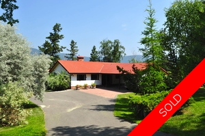 Williams Lake House with Acreage for sale:  3 bedroom 3,600 sq.ft. (Listed 2014-07-11)