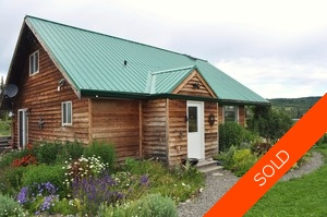 Williams Lake House with Acreage for sale:  2 bedroom 1,220 sq.ft. (Listed 2011-06-06)