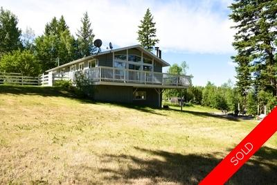 Williams Lake House with Acreage for sale:  4 bedroom 2,380 sq.ft. (Listed 2017-06-27)