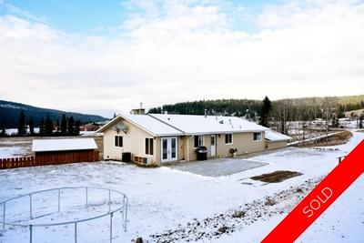 Williams Lake House with Acreage for sale:  5 bedroom 3,400 sq.ft. (Listed 2017-11-16)