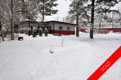 Williams Lake House/Single Family for sale:  3 bedroom 1,480 sq.ft. (Listed 2018-02-19)