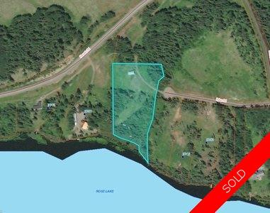 Williams Lake Land for sale:   5.43 acres (Listed 2018-04-08)