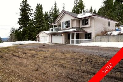 Williams Lake House with Acreage for sale:  3 bedroom 2,289 sq.ft. (Listed 2018-04-16)
