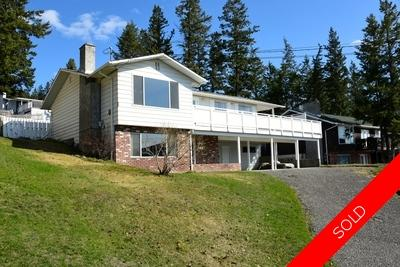 Williams Lake House/Single Family for sale:  4 bedroom 2,210 sq.ft. (Listed 2018-04-23)