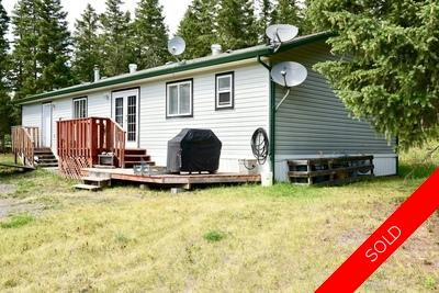 Williams Lake Manufactured with Land for sale:  3 bedroom 1,100 sq.ft. (Listed 2018-08-02)