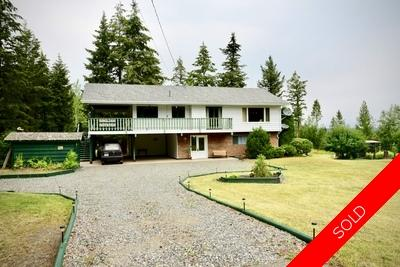 Williams Lake House with Acreage for sale:  3 bedroom 2,163 sq.ft. (Listed 2018-08-06)