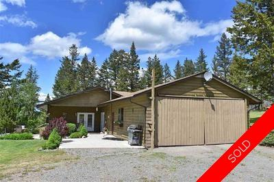 Williams Lake House with Acreage for sale:  3 bedroom 2,436 sq.ft. (Listed 2018-08-20)
