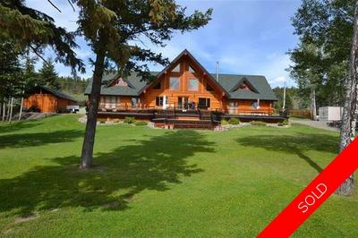 Williams Lake House with Acreage for sale:  3 bedroom 5,708 sq.ft. (Listed 2018-10-24)