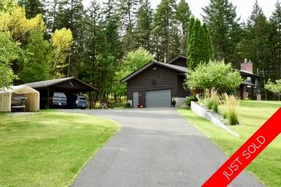 Williams Lake House with Acreage for sale:  5 bedroom 2,780 sq.ft. (Listed 2019-09-24)