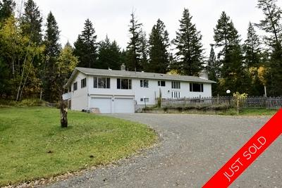 Williams Lake House with Acreage for sale:  5 bedroom  (Listed 2019-10-09)