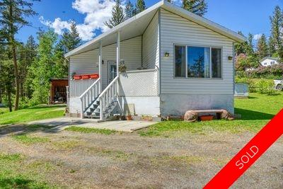 Williams Lake Manufactured with Land for sale:  2 bedroom 1,384 sq.ft. (Listed 2020-05-28)