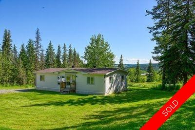 Williams Lake Manufactured with Land for sale:  3 bedroom 1,344 sq.ft. (Listed 2020-07-15)