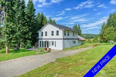 Williams Lake House with Acreage for sale:  3 bedroom 2,352 sq.ft. (Listed 2020-08-17)