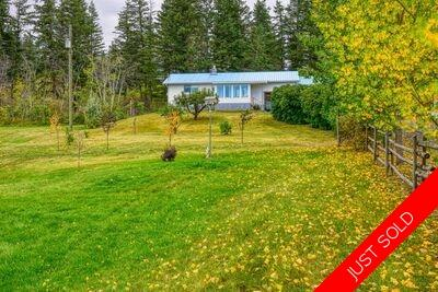 Williams Lake House with Acreage for sale:  2 bedroom 1,060 sq.ft. (Listed 2020-09-23)