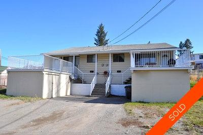 Williams Lake Duplex for sale:  4 bedroom 1,920 sq.ft. (Listed 2010-07-16)