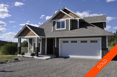 Williams Lake House with Acreage for sale:  4 bedroom 3,760 sq.ft. (Listed 2012-08-28)