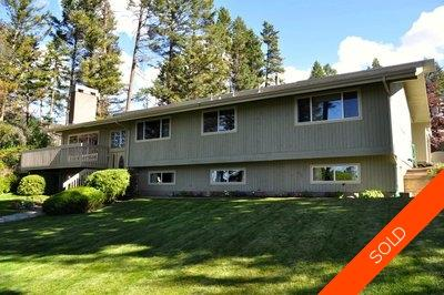 Williams Lake House/Single Family for sale:  3 bedroom 4,060 sq.ft. (Listed 2012-09-25)