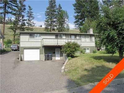 Williams Lake House/Single Family for sale:  3 bedroom 2,304 sq.ft. (Listed 2012-10-01)