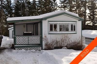 Williams Lake Manufactured for sale:  2 bedroom 924 sq.ft. (Listed 2013-02-13)