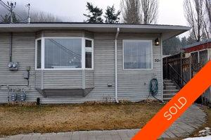 Williams Lake 1/2 Duplex for sale:  2 bedroom 800 sq.ft. (Listed 2013-03-15)