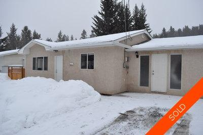 Williams Lake House/Single Family for sale:  3 bedroom 1,539 sq.ft. (Listed 2011-01-25)