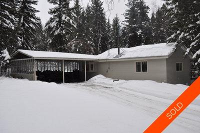 Williams Lake Manufactured with Land for sale:  4 bedroom 1,690 sq.ft. (Listed 2011-05-17)