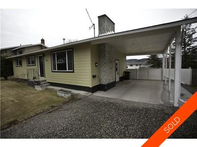 Williams Lake House/Single Family for sale:  4 bedroom 2,200 sq.ft. (Listed 2014-07-13)