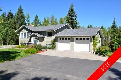 Williams Lake House with Acreage for sale:  5 bedroom 3,120 sq.ft. (Listed 2014-08-25)