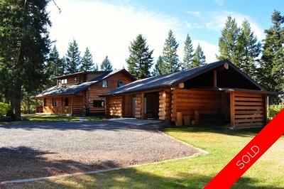 Williams Lake House with Acreage for sale:  5 bedroom 3,200 sq.ft. (Listed 2014-10-07)