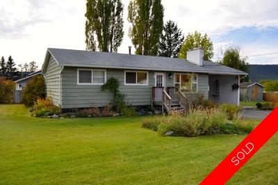 Williams Lake House/Single Family for sale:  4 bedroom 2,060 sq.ft. (Listed 2014-10-20)