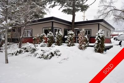 Williams Lake House/Single Family for sale:  3 bedroom 1,480 sq.ft. (Listed 2015-02-04)