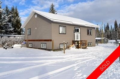 Williams Lake House/Single Family for sale:  3 bedroom 2,000 sq.ft. (Listed 2015-11-18)