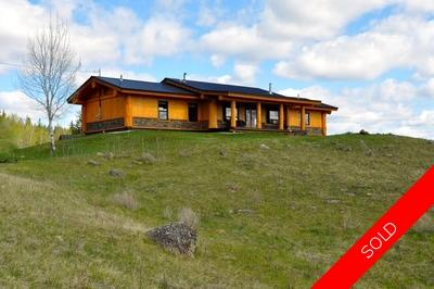 Williams Lake House with Acreage for sale:  3 bedroom 2,080 sq.ft. (Listed 2016-04-04)